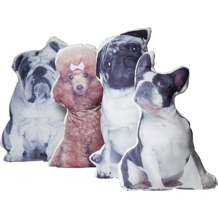 Cushion Dogs Out A/BOSTON TERRIER