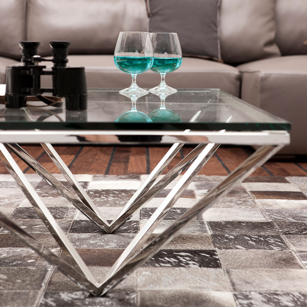 Coffee Table Network 105x105cm