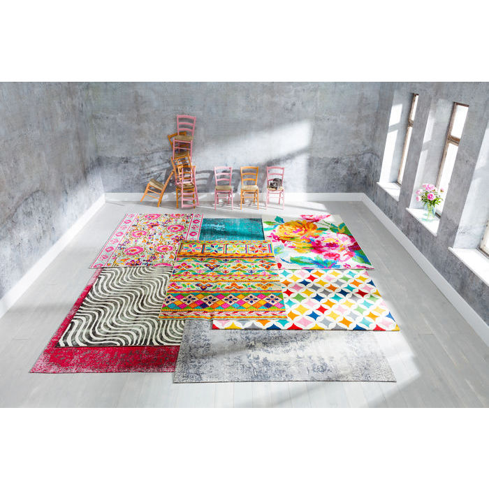 Carpet Kelim Pop Pink 240x170cm