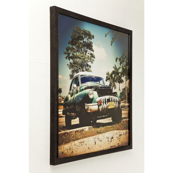 Picture Frame Cuba Rallye 76x76cm