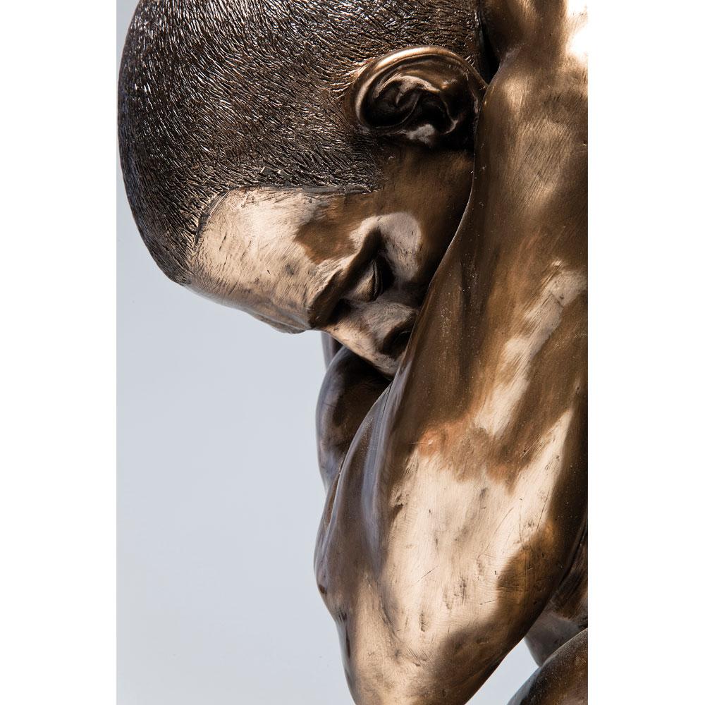 ヌードマン ハグブロンズ 54cm フィギュア