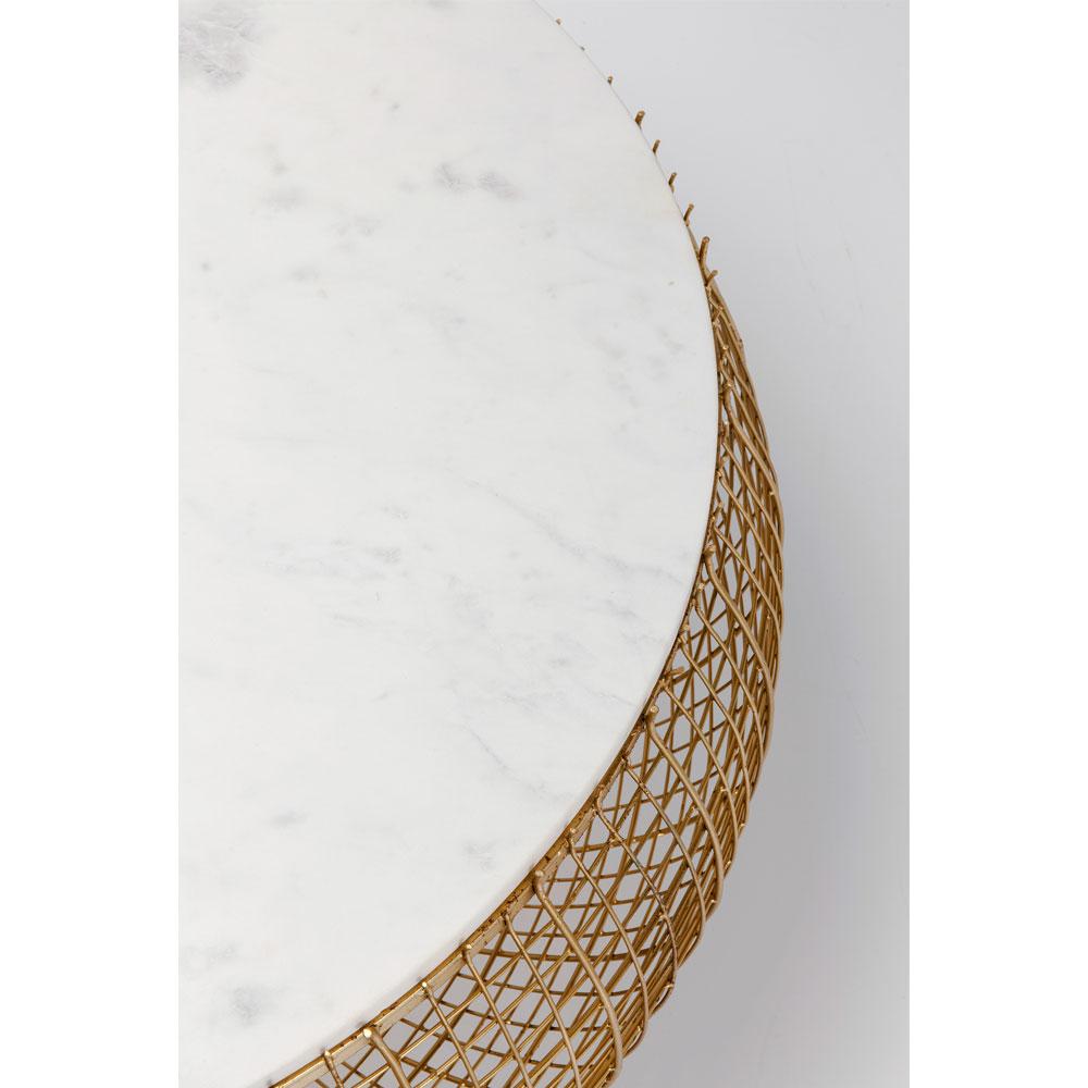 セスタマーブル ゴールド O100cm ローテーブル/ コーヒーテーブル