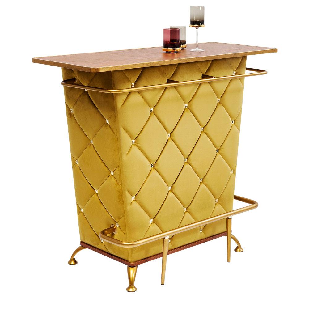 レディロック イエロー バーテーブル