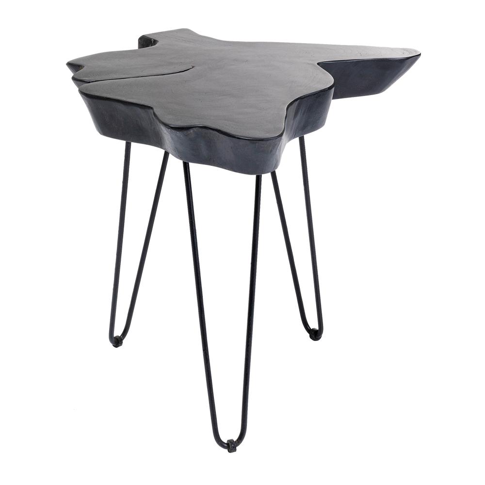 アスペンブラック50x50㎝ サイドテーブル