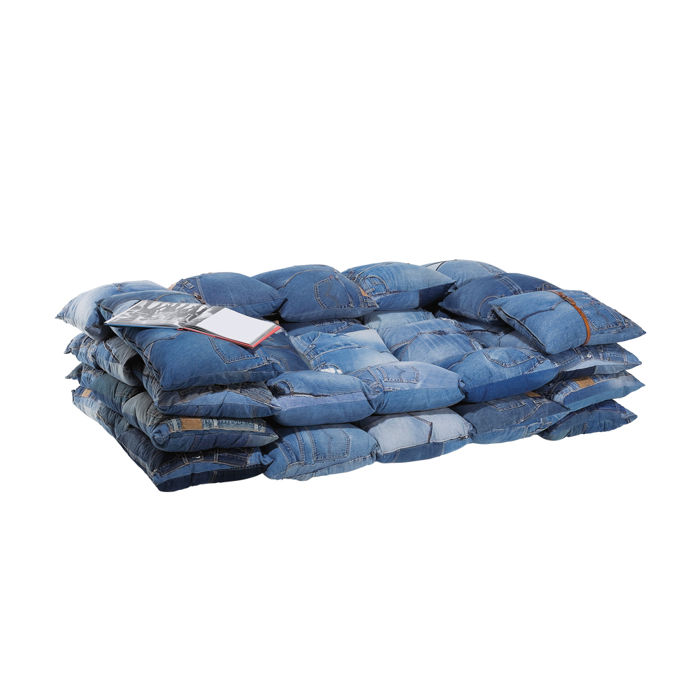 Sofa Jeans Cushions 2-Seater