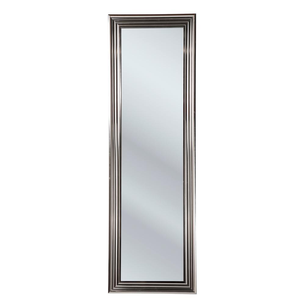 Standing Mirror Frame Silver 180×55cm