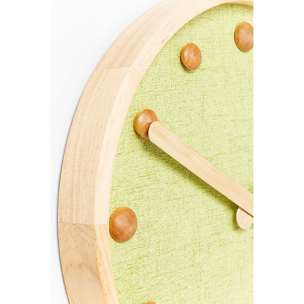 Wall Clock Arizona Green 42cm
