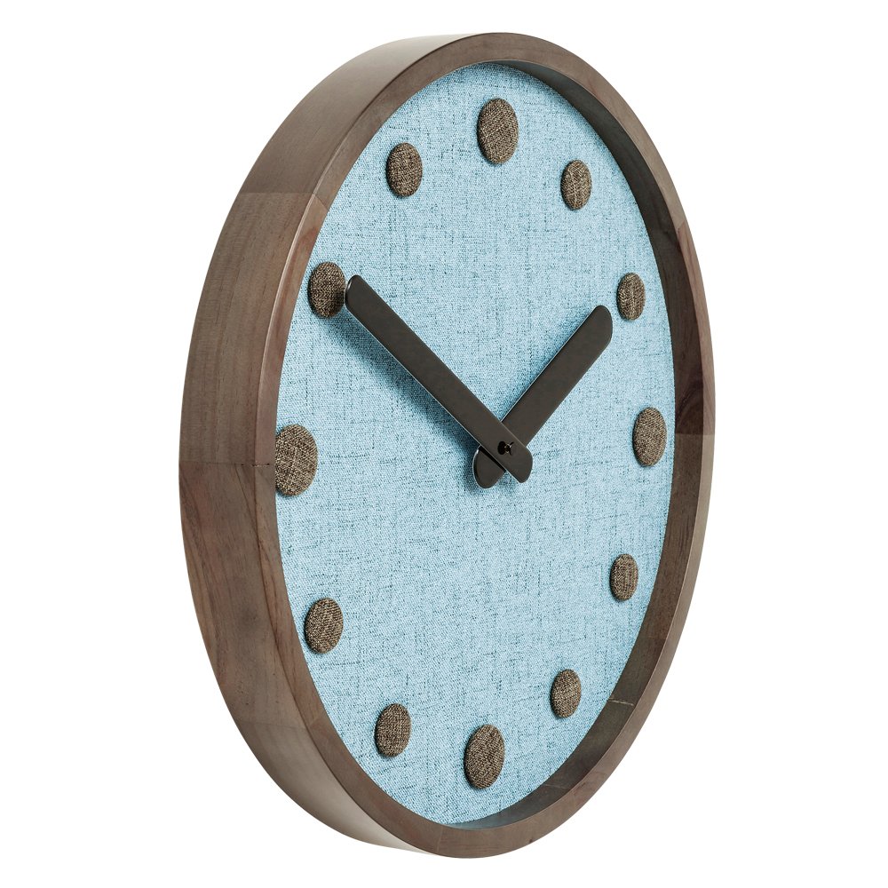 Wall Clock Arizona Blue 42cm
