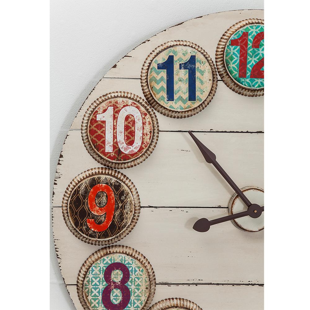 Wall Clock Numero Colore Ø100cm