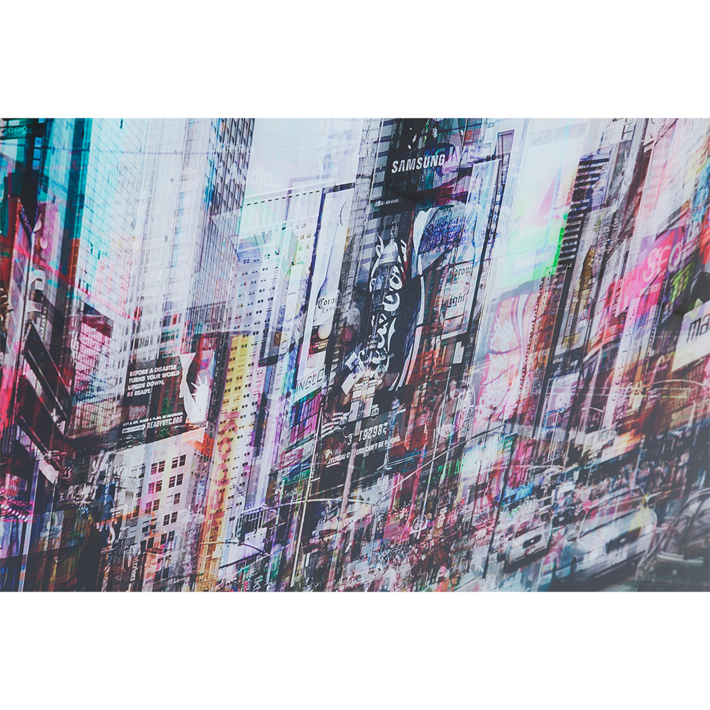 【在庫切れ】Picture Glass Times Square Move 70x90cm