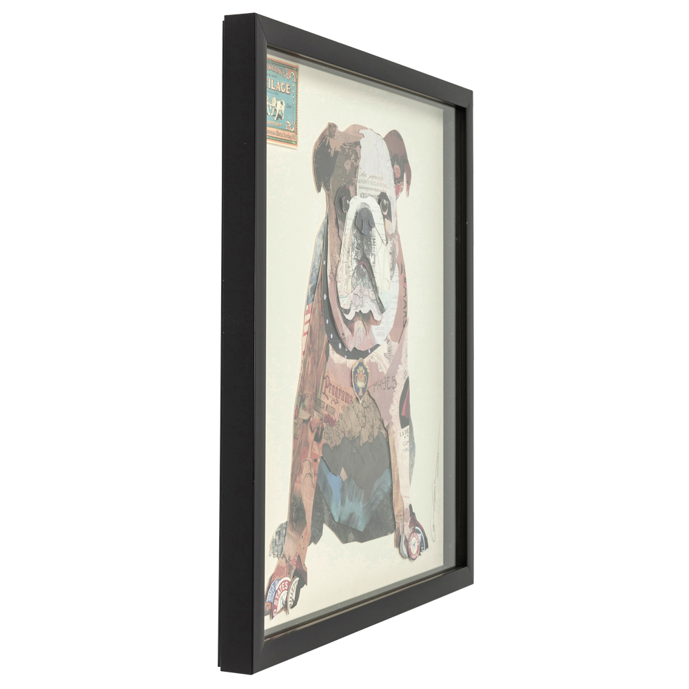 【在庫切れ】Picture Frame Art The Dog 61x61cm