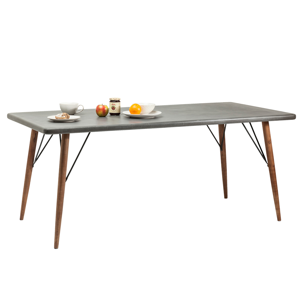 エックスファクトリー 180x90cm ダイニングテーブル
