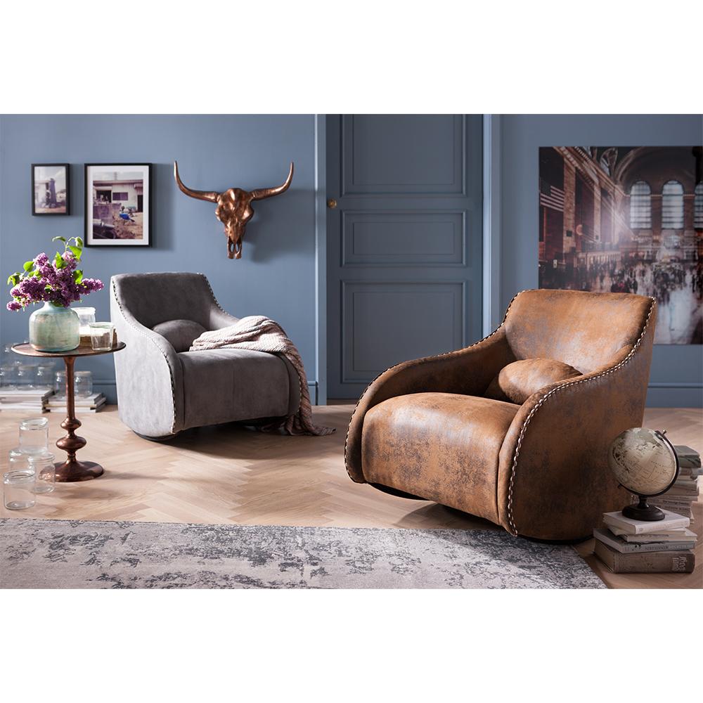 Rocking Chair Swing Ritmo Vintage Grey