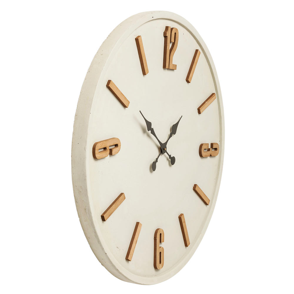 Wall Clock Cement
