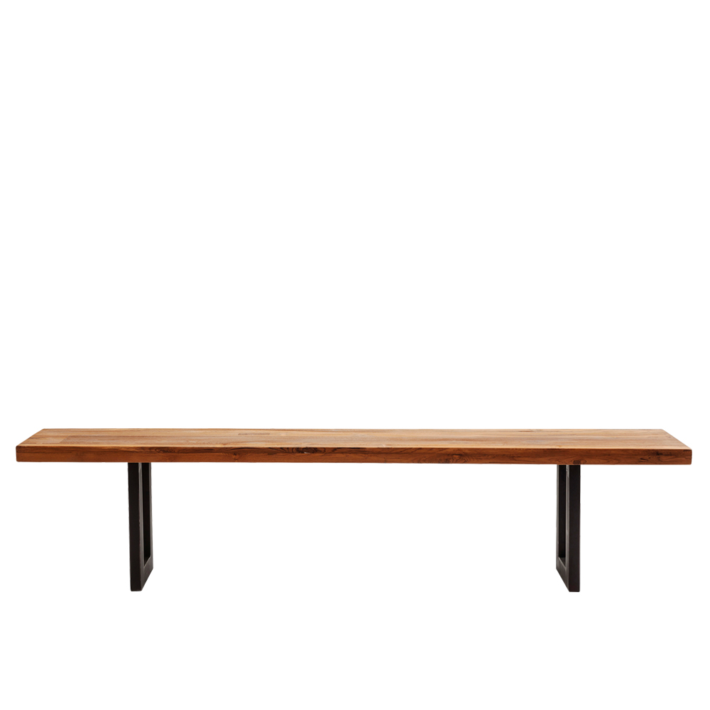 Factory Bench Wood 160