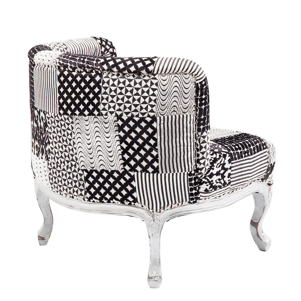 Arm Chair Rockstar Patchwork