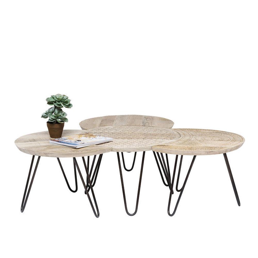 プロ (4/Set) ローテーブル/コーヒーテーブル