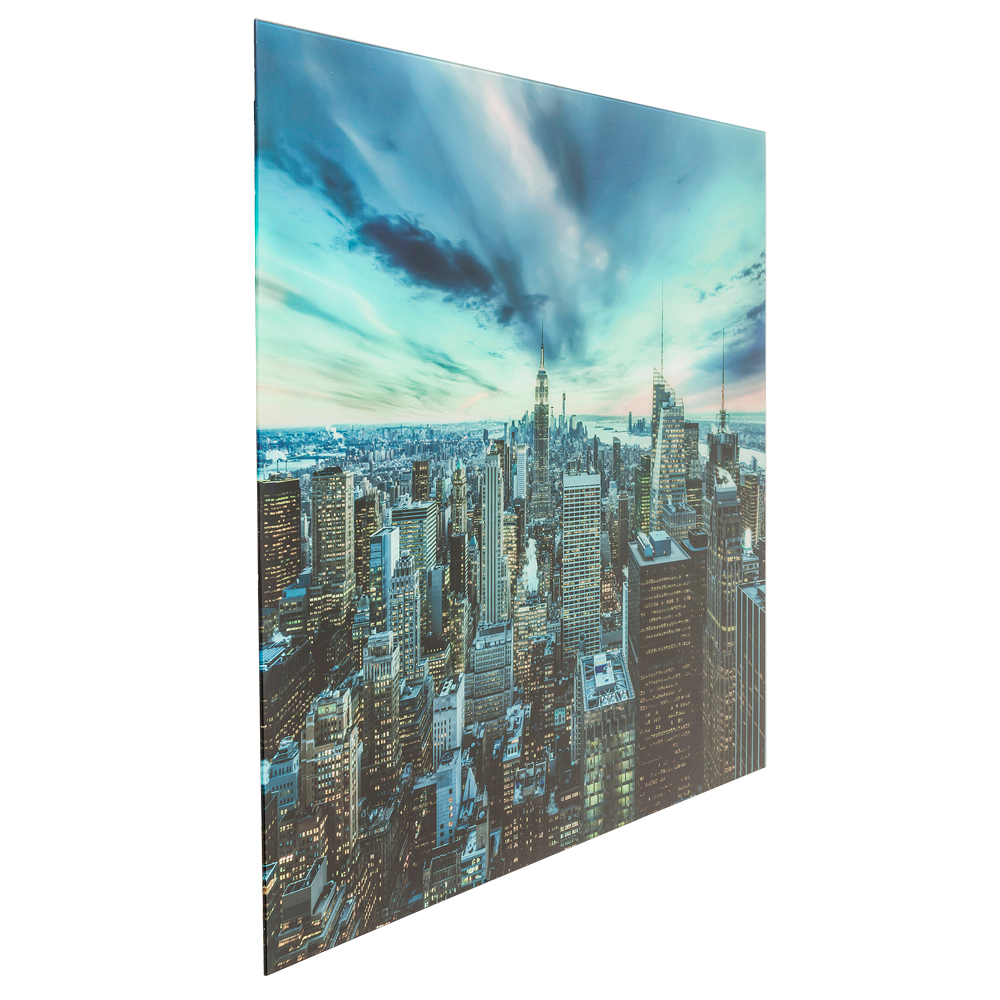 Picture Glass New York Sunset 160x120cm