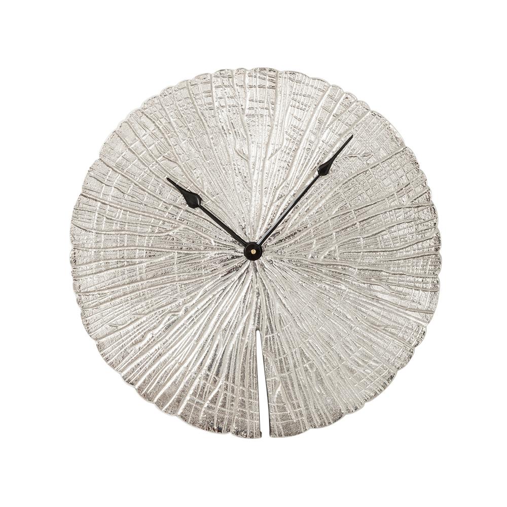 Wall Clock Albero Silver