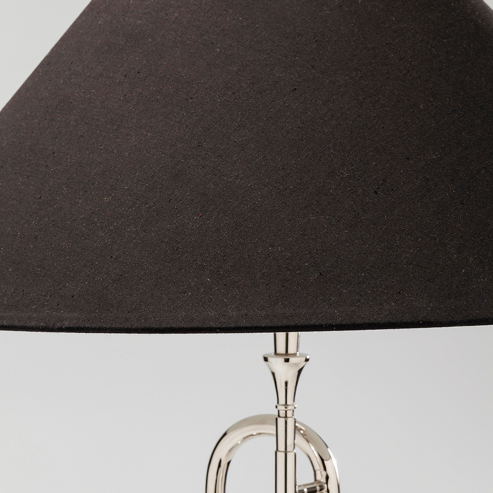 Table Lamp Trumpet Jazz Silver