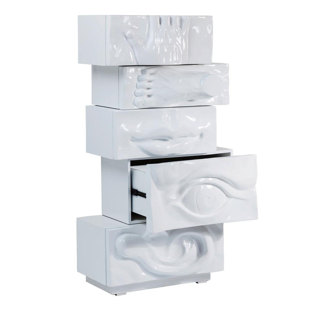 Dresser Body Art White