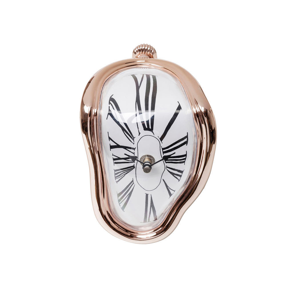 【在庫切れ】Table Clock Flow Rosegold