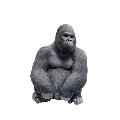 Deco Figurine Monkey Gorilla Side Medium