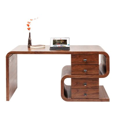 Desk Soft Snake Walnut 150x70cm