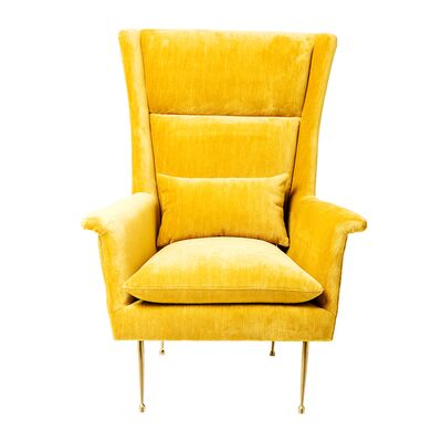 Armchair Vegas Forever Yellow