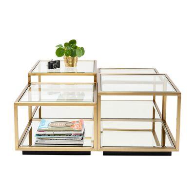 ルイージゴールド (4/Set) ローテーブル/コーヒーテーブル