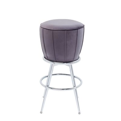 Bar Stool After Work Chrome