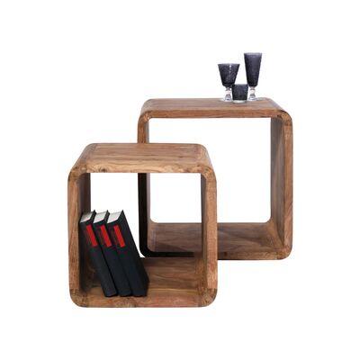 オーセンティコキューブスクエア (2/Set) サイドテーブル