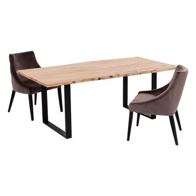 Table Harmony black 160x80cm