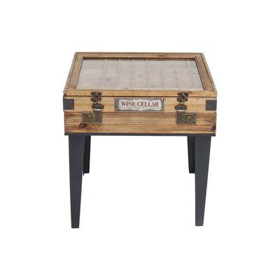 コレクター 55x55cm サイドテーブル
