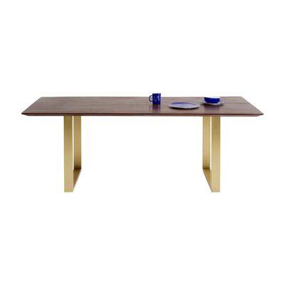 シンフォニーダークブラス 180x90 ダイニングテーブル