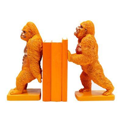 ゴリラオレンジ(2/Set) ブックエンド