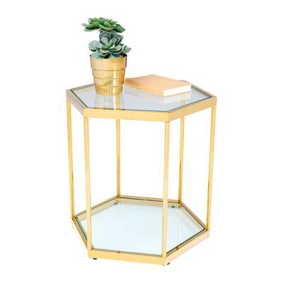 コーム ゴールド 55cm サイドテーブル