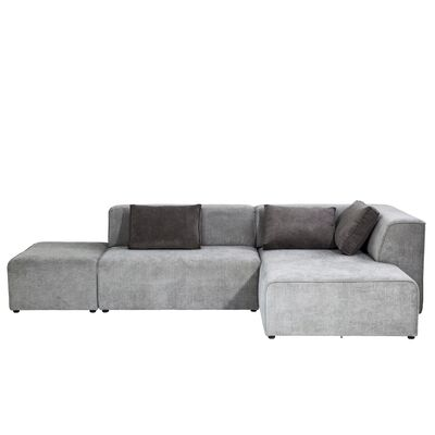 Sofa Infinity Ottomane Right Grey