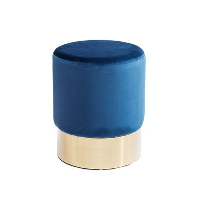 【入荷待ち商品】Stool Cherry Blue Brass Ø35cm