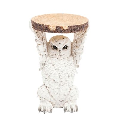 Side Table Animal Owl Ø35cm